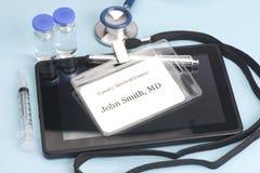 El doctor ID Imagen de archivo libre de regalías