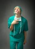 El doctor Made hace frente fotografía de archivo