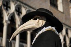 El doctor Mask de la plaga Fotos de archivo libres de regalías