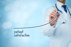 El doctor mejora la satisfacción paciente imagen de archivo