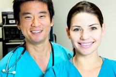 El doctor Nurse Team Fotografía de archivo