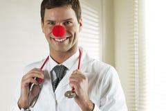 El doctor Portrait del payaso Fotografía de archivo