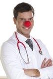 El doctor Portrait del payaso Fotos de archivo