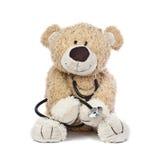 El doctor Teddy Bear Fotografía de archivo