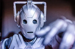 El doctor Who Cyberman Imagen de archivo