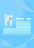 El dolor de diente libre illustration