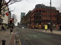 El domingo por la mañana en Manchester Imagenes de archivo