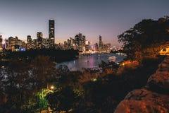El domingo por la tarde en Brisbane imagen de archivo libre de regalías