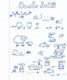 El Doodle fijó 15 Imagenes de archivo