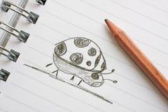 El Doodling Fotografía de archivo