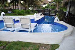 EL Dorado Casitas Royale dans Cancun, Mexique photo stock