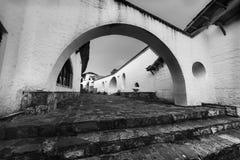 El dorado legend town entrance. In black and white stock photos