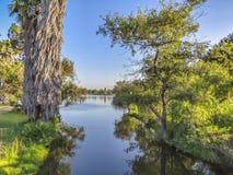 El Dorado Park jeziora kanał obraz stock