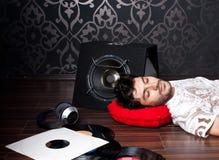El dormir Foto de archivo libre de regalías