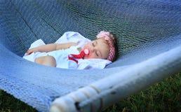 El dormir como un bebé Imagen de archivo