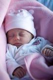 el dormir del bebé Imagen de archivo libre de regalías