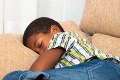 El dormir del niño Imágenes de archivo libres de regalías