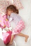 El dormir del niño Fotos de archivo libres de regalías