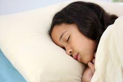 El dormir del niño Fotografía de archivo libre de regalías