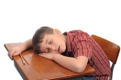 El dormir en clase Fotos de archivo libres de regalías