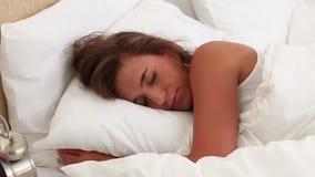El dormir pacífico de la mujer metrajes