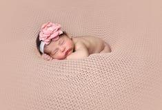 El dormir planteado niño Imágenes de archivo libres de regalías