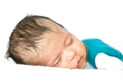 El dormir recién nacido Fotos de archivo