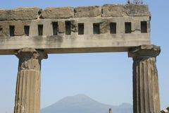 El dormir Vesuvio Fotografía de archivo