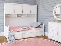 El dormitorio de los niños Imagen de archivo