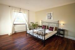 El dormitorio moderno Imagen de archivo