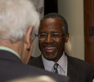 El Dr. Ben E Carson que corre posiblemente para U Presidente de S Fotos de archivo