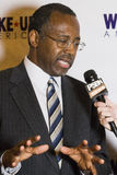 El Dr. Ben E Carson que corre posiblemente para U Presidente de S Imagenes de archivo