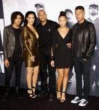 El Dr. Dre y Nicole Young Fotos de archivo