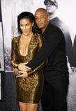 El Dr. Dre y Nicole Young Foto de archivo