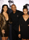 El Dr. Dre y Nicole Young Fotos de archivo libres de regalías