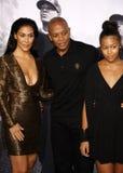 El Dr. Dre y Nicole Young Fotografía de archivo libre de regalías