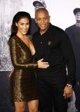 El Dr. Dre y Nicole Young Foto de archivo libre de regalías