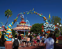El Dr. Seuss Landing foto de archivo libre de regalías