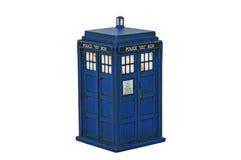 El Dr. Who ?Tardis? foto de archivo