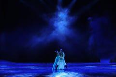 El drama ciego de la danza de la pena- la leyenda de los héroes del cóndor Fotografía de archivo libre de regalías