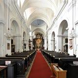 El Dreifaltigkeitskirche, Viena, Austria Imagen de archivo libre de regalías