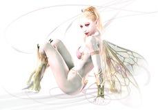 El duende blanco Foto de archivo libre de regalías