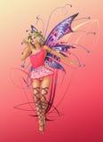 El duendecillo rosado Imagenes de archivo
