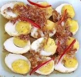 El dulce eggs la comida Imágenes de archivo libres de regalías