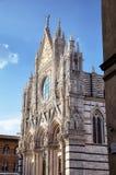El Duomo (catedral) de Siena. Imagen de archivo libre de regalías