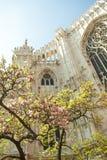 El Duomo de Milán. Primavera. Fotografía de archivo