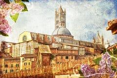 El Duomo de Siena Fotografía de archivo libre de regalías