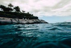 El Duque kasztel na skalistym wybrzeżu Zdjęcia Royalty Free