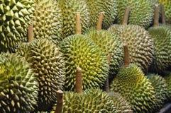 El Durian muchos fijó Foto de archivo