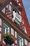 El Duvet en la ventana #2, malo wimpfen Imagenes de archivo